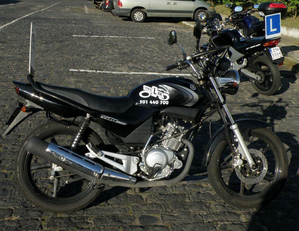 Yamaha YBR125 kategoria A1