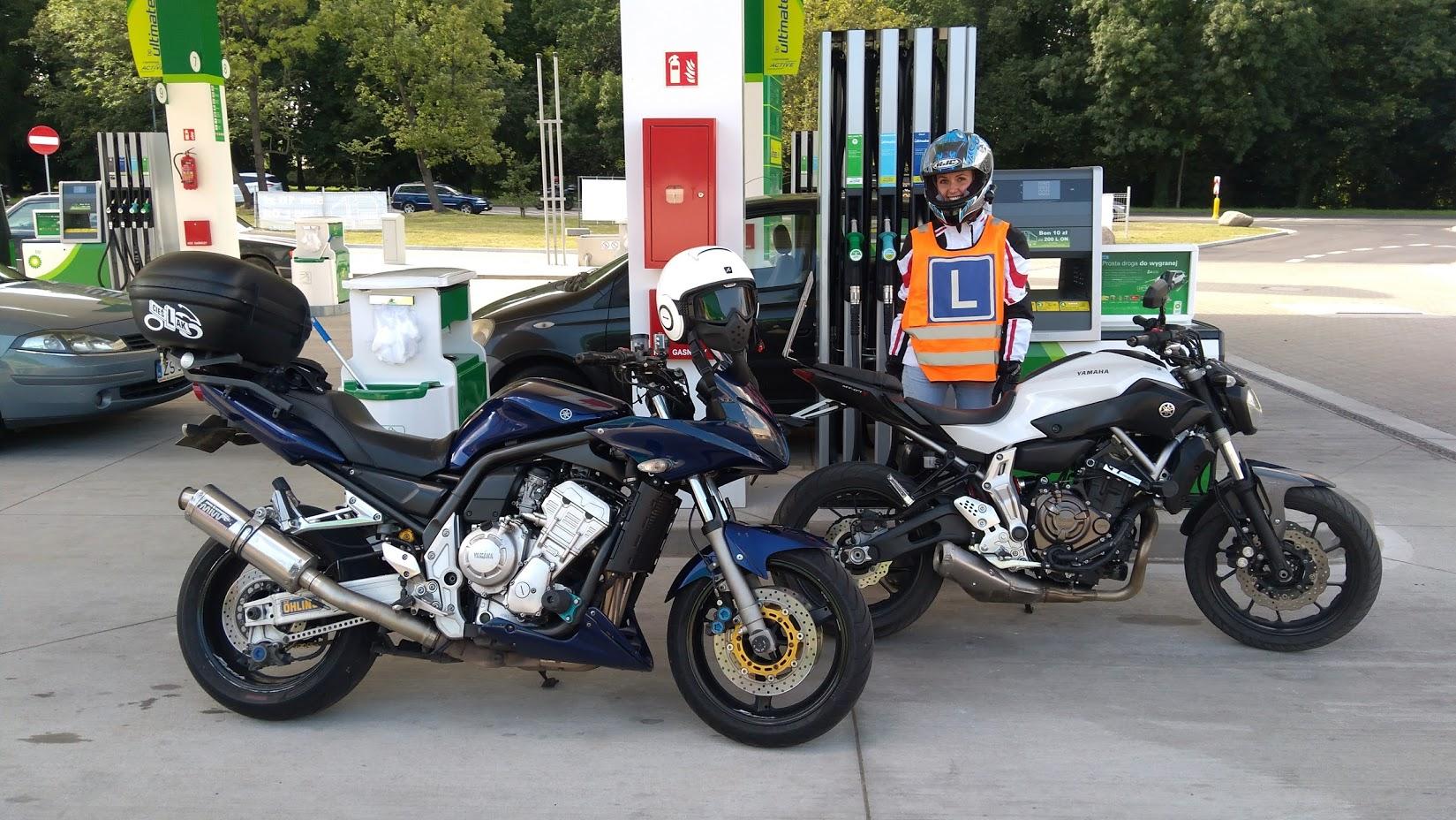 szkolenie motocyklistów