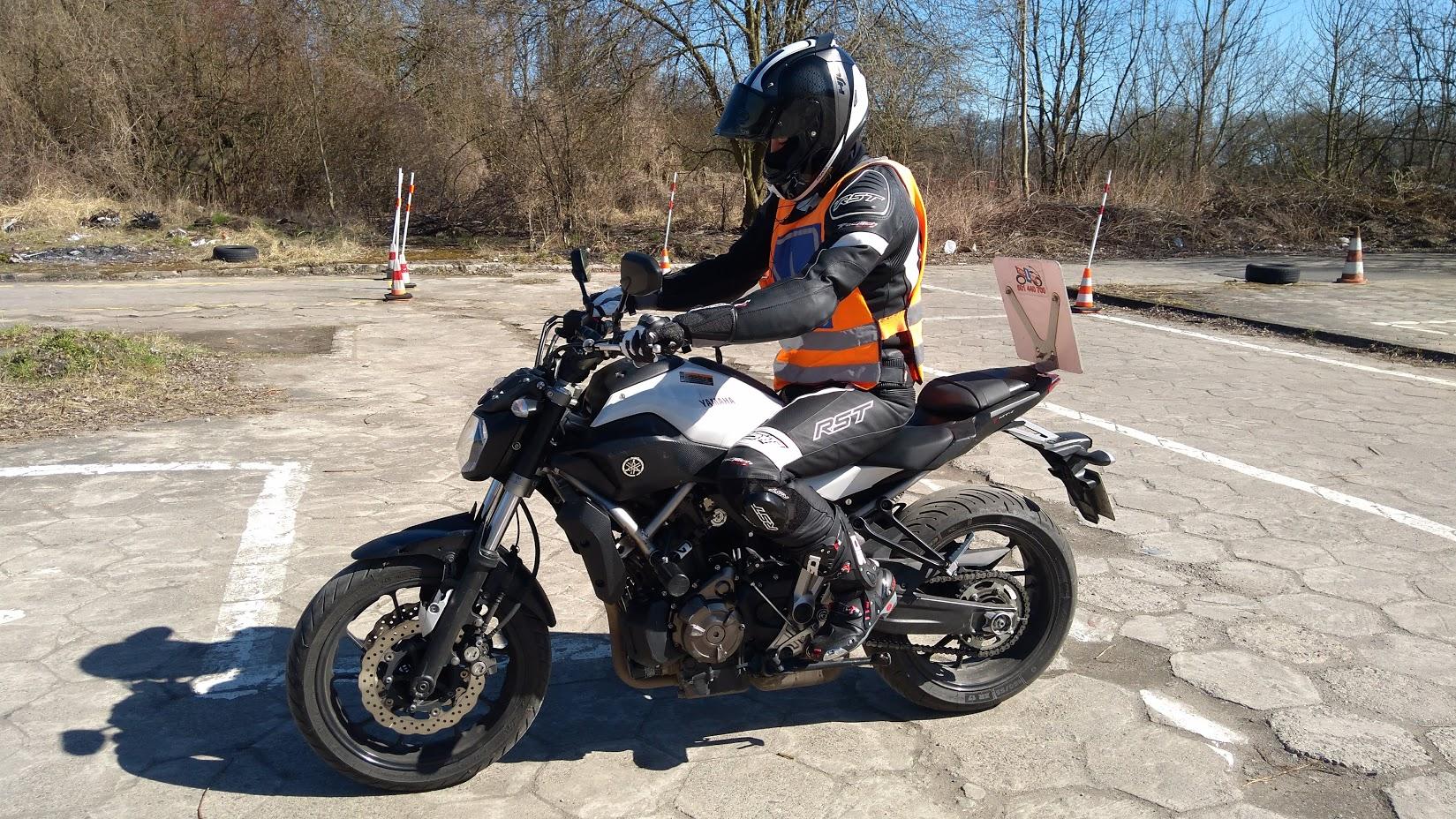 Yamaha MT 07 kategoria A